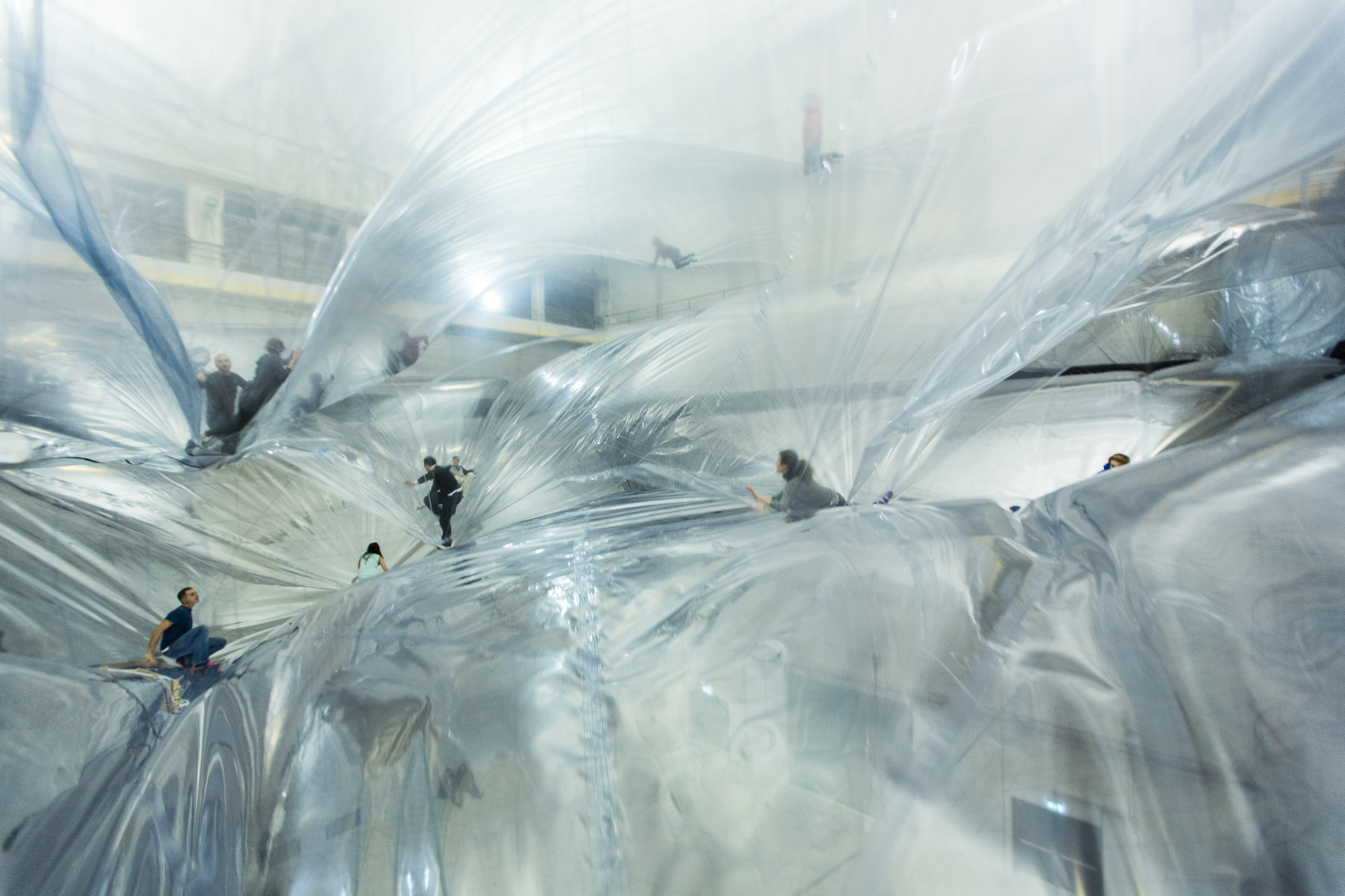 Tomas Saraceno : On Space time Foam at Hangar Bicocca, Milan 201